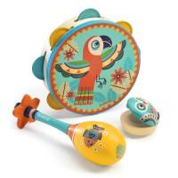 Djeco set instrumentov animambo