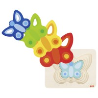 Goki nivojska sestavljanka metuljček