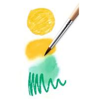 Djeco akvarelne barvice 24 kosov