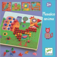 Djeco Ustvari mozaik živali