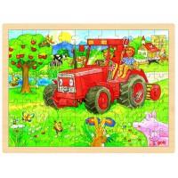 Goki puzzle traktor