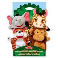 M&D 4 ručne lutke Zoološki vrt
