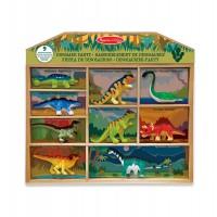 M&D Set dinozavrov 9 kos