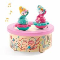 Djeco magnetna glasbena igrača plesalke