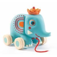 Djeco igrača na kolesih slonček