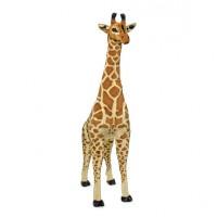 Velika plišasta žirafa