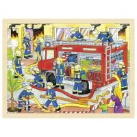 Goki sestavljanka gasilci