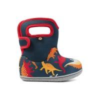 Bogs škornji Baby dinozaver rdeči