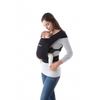 Ergobaby carrier Embrace Pure Black
