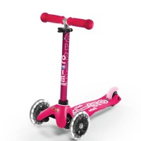 Micro Mini Deluxe Scooter LED pink