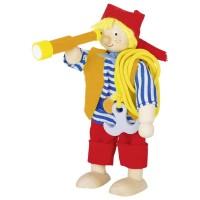 Goki lutka pirat z daljnogledom