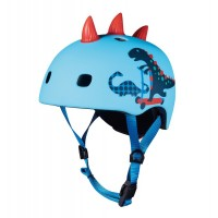 Micro čelada Dinozaver 3D M