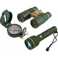 Scout daljnogled, svetika in kompas