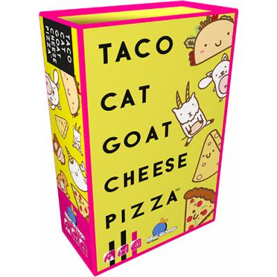Družabna igra s kartami Taco mačka koza sir pizza