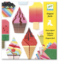 Djeco origami sladoled