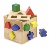 M&D Lesena kocka z oblikami