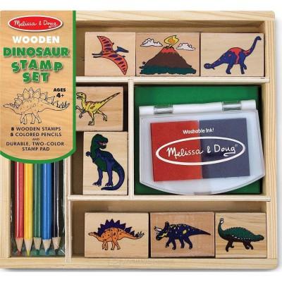 Lesene štampiljke Dinozavri