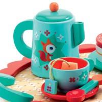 Čajni servis Čajanka, plavi